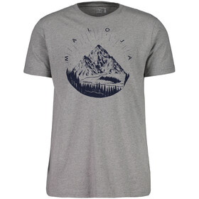 Maloja SeptimerM. T-Shirt Homme, grey melange
